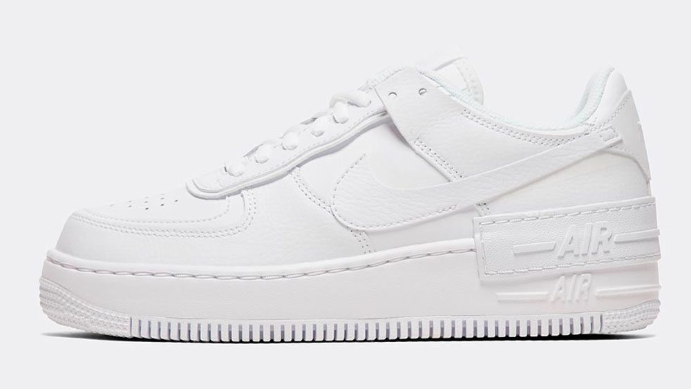 _0019_Nike Womens Air Force 1 Shadow Trainer _ White