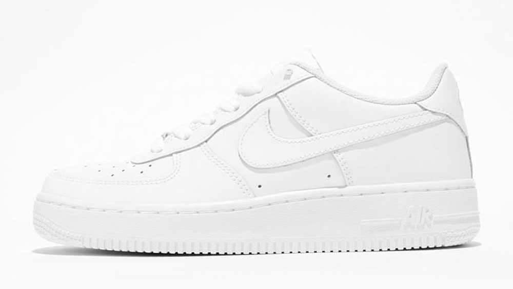 _0033_Nike Junior Air Force 1 Low Trainer _ WhiteNike Junior Air Force 1 Low Trainer _ White