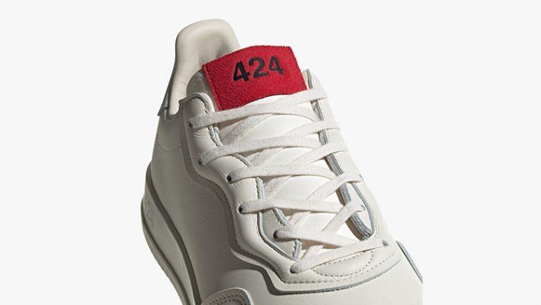 424 x adidas SC Premiere White EG3730 tongue thumbnail image
