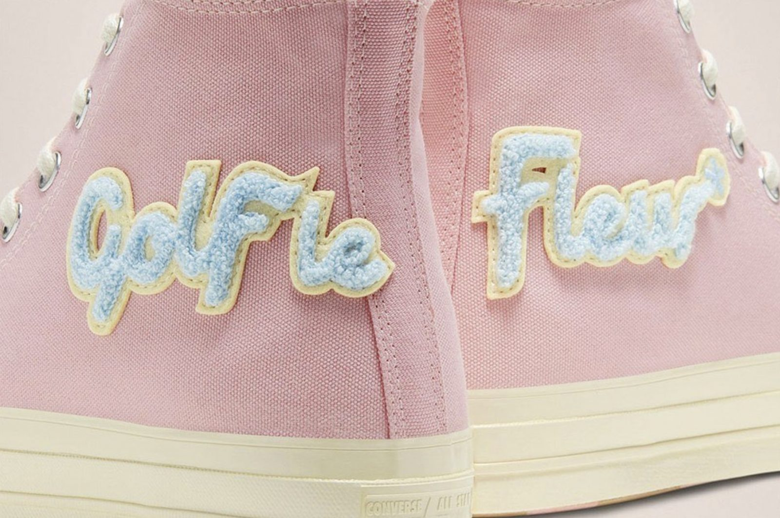 A Brand New Pink GOLF le FLEUR x Converse Chuck Taylor Is Here To Steal Our Hearts