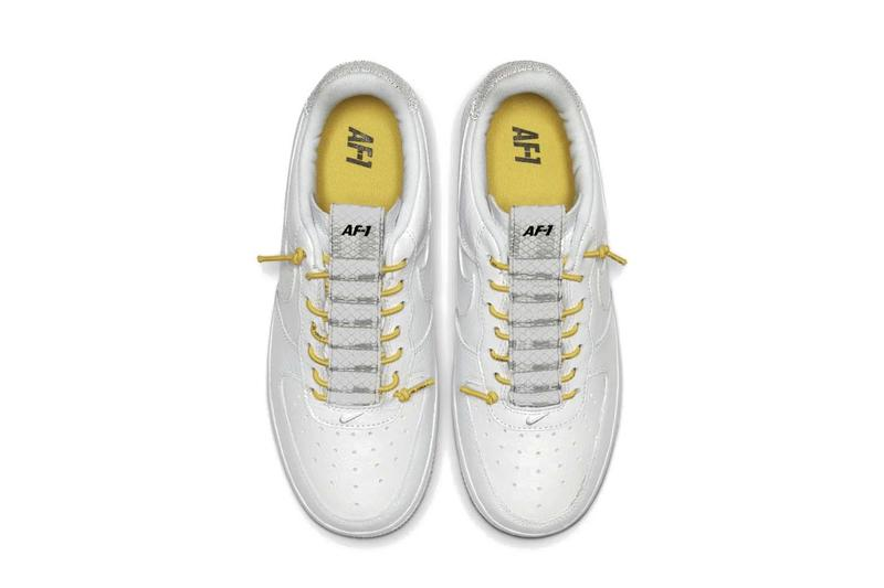 Air Force 1 White Chrome Yellow front