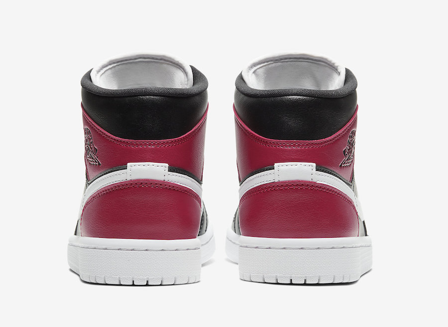Air-Jordan-1-Mid-WMNS-Black-White-Noble-Red-BQ6472-016-Release-Date heel
