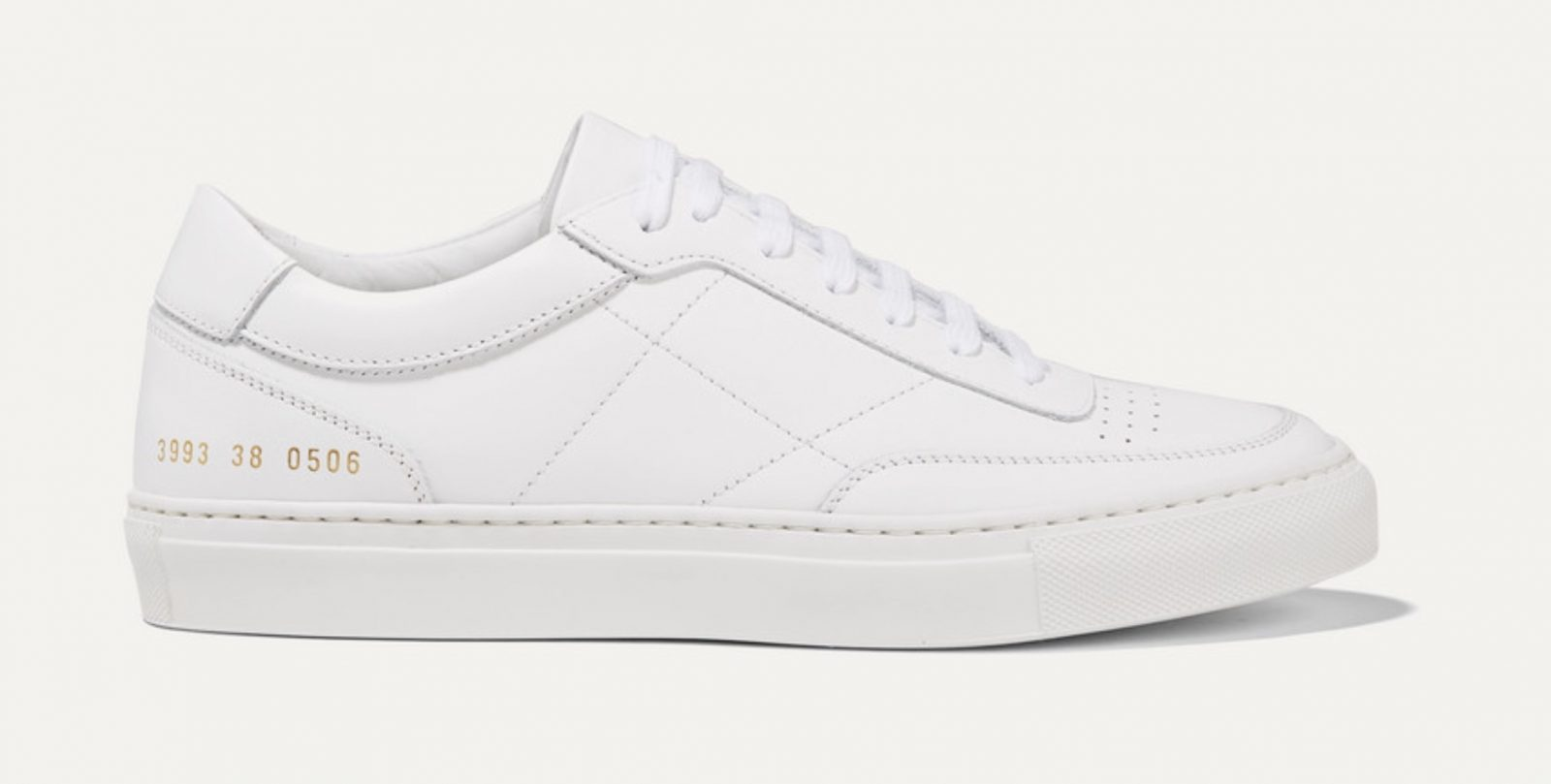 Common Projects Resort Classic perforated leather sneakers