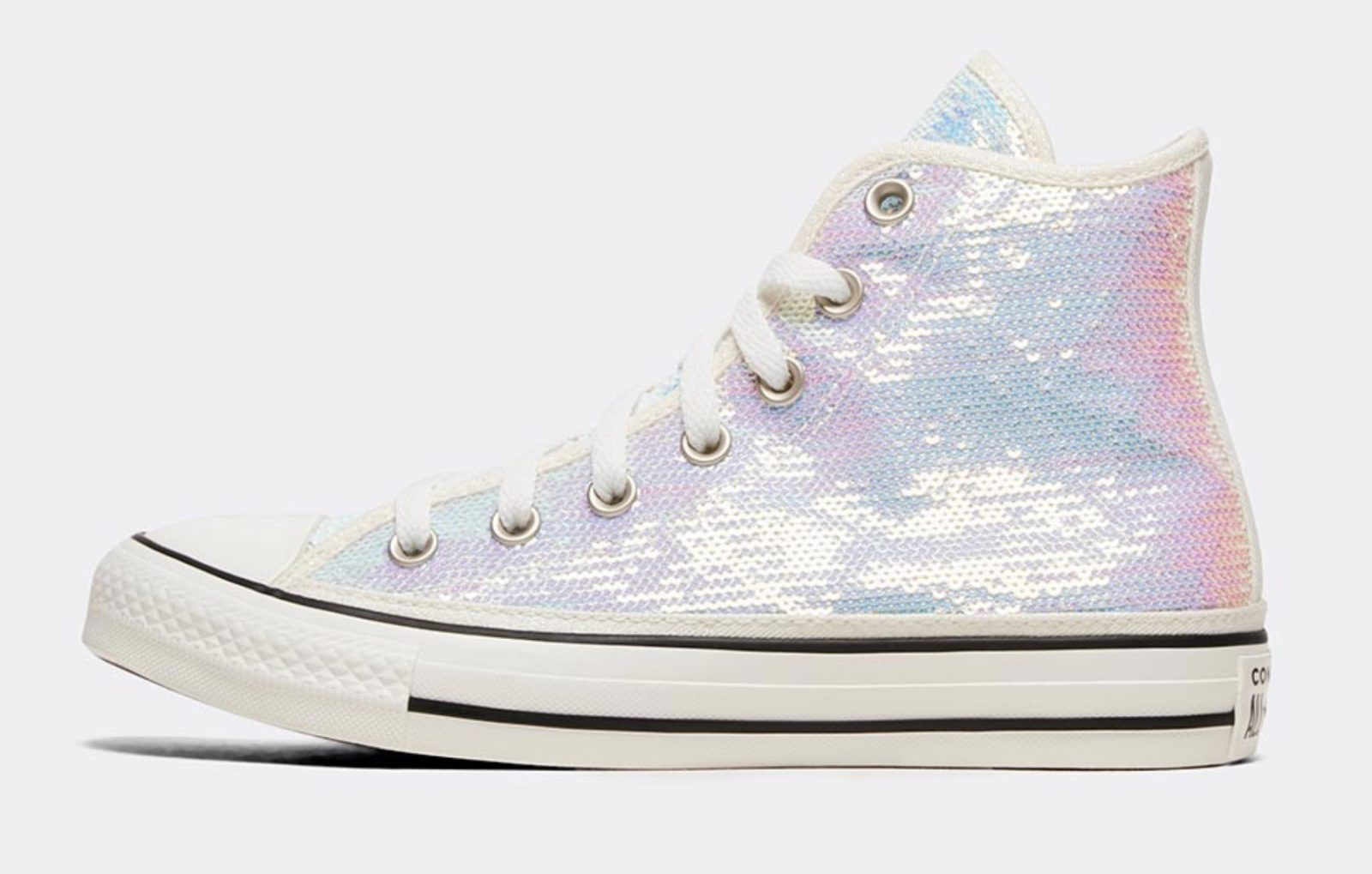 Converse Celebrate Their Chuck Taylor Silhouette In A Complete Sequin Look 4 side 2