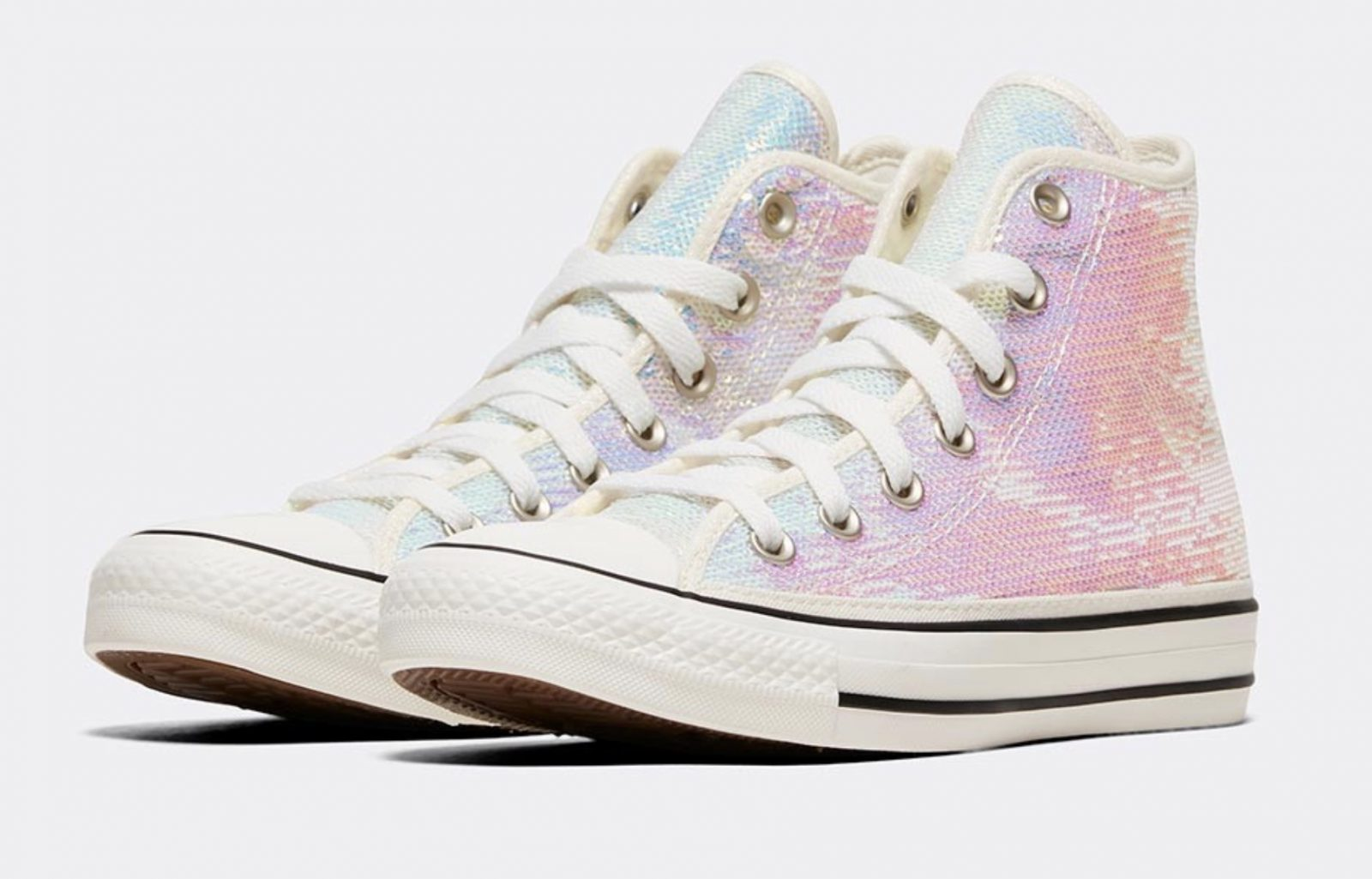 Converse Celebrate Their Chuck Taylor Silhouette In A Complete Sequin Look 4