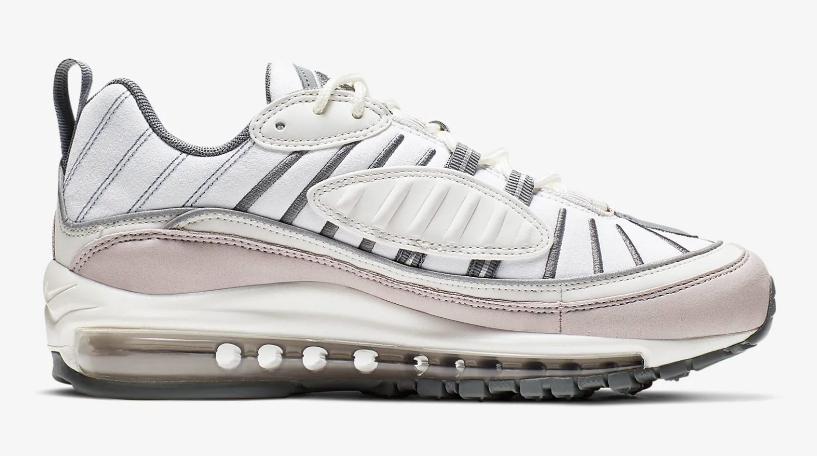 Don't Miss The Last Sizes Of This Air Max 98 'Violet Ash' In Nike's Sale 4 side 1
