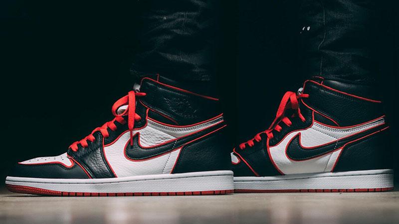Jordan 1 Bloodline On Foot