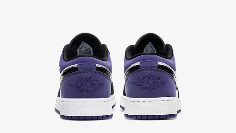 Jordan 1 Low Court Purple 553560-125 back thumbnail image