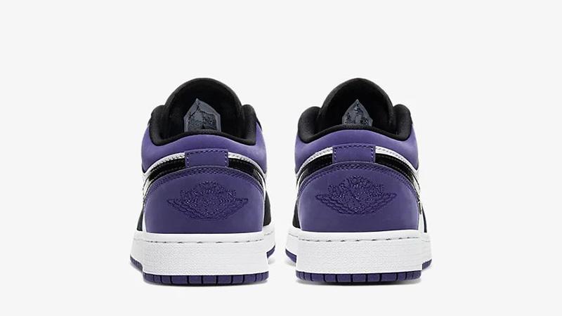 Jordan 1 Low Court Purple 553560-125 back
