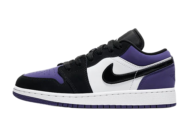 Jordan 1 Low Court Purple 553560-125