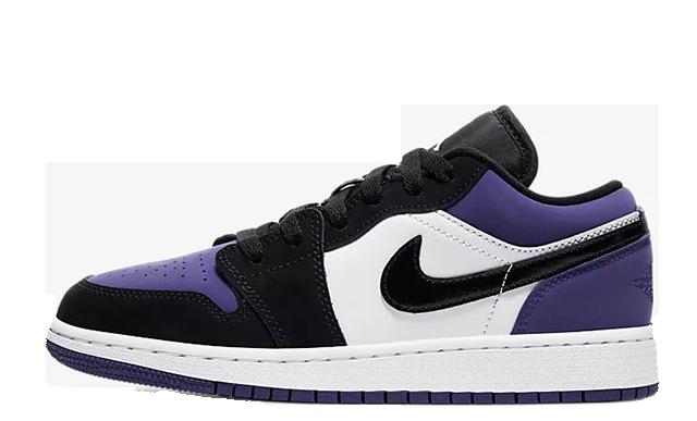 Jordan 1 Low Court Purple 553560-125