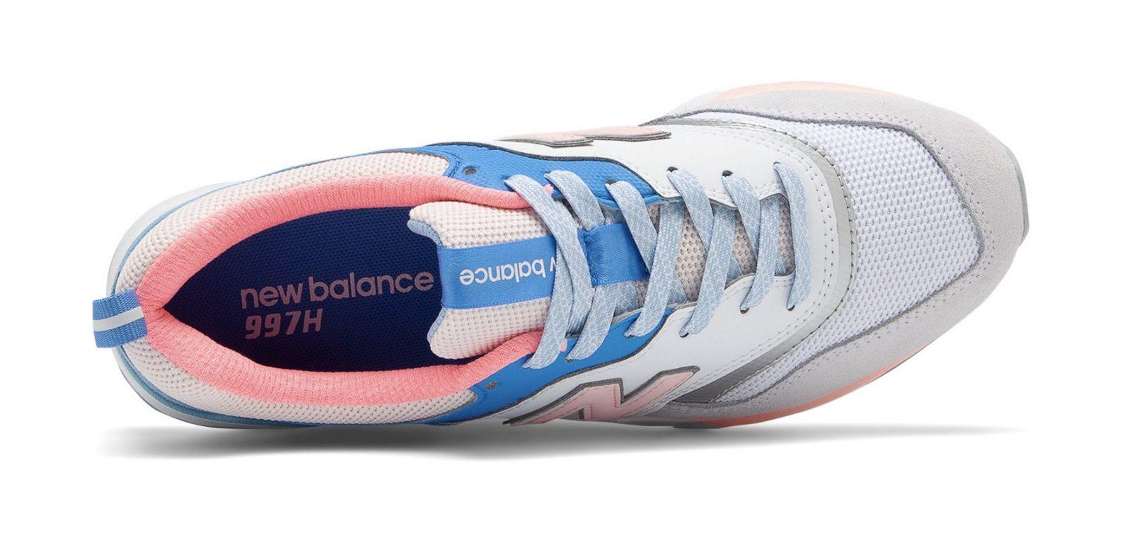 New Balance 997H Blue Guava Glo laces