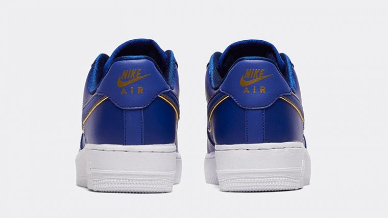 Nike Air Force 1 07 Essential Deep Royal Blue back thumbnail image