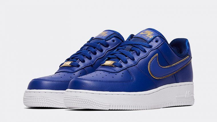 Nike Air Force 1 07 Essential Deep Royal Blue front thumbnail image
