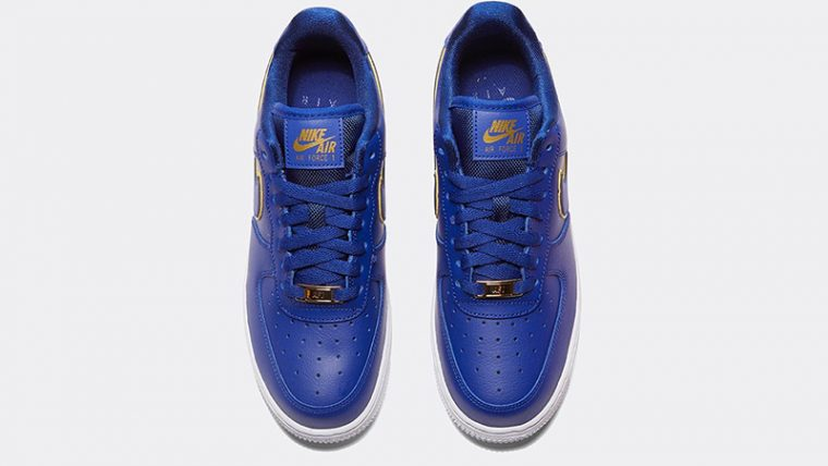 Nike Air Force 1 07 Essential Deep Royal Blue middle thumbnail image