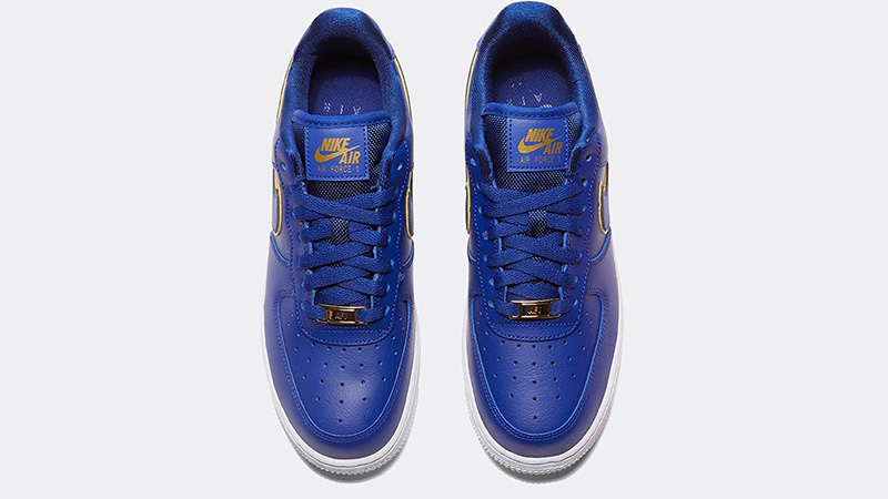 Nike Air Force 1 07 Essential Deep Royal Blue middle