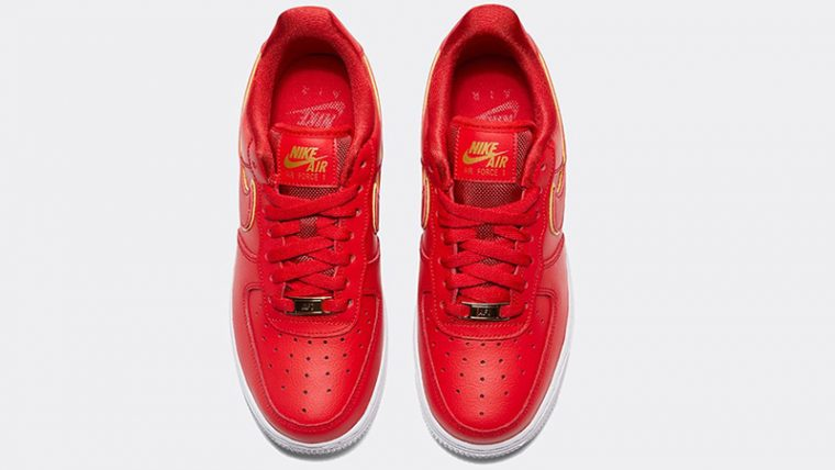 Nike Air Force 1 07 Essential Red middle thumbnail image