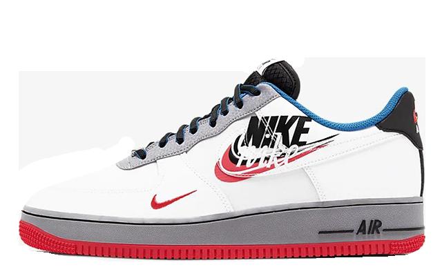 Nike Air Force 1 07 LV8 White Grey Ember CT1620-100
