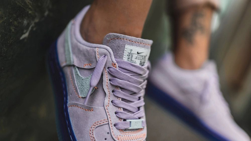 Nike Air Force 1 07 Vandalised LXX Purple Agate CT7358 500Eneste kvinder CT7358 500 The Sole Womens