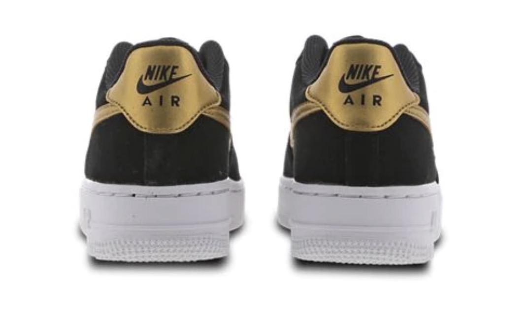 Nike Air Force 1 Black Gold