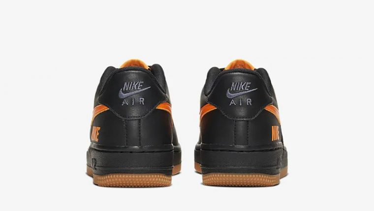 Nike Air Force 1 LV8 5 Black Orange CQ4215-001 back thumbnail image