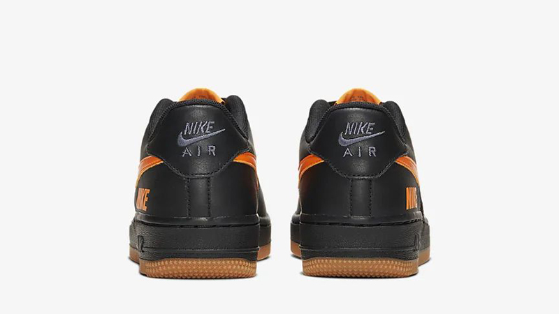 Nike Air Force 1 LV8 5 Black Orange CQ4215-001 back