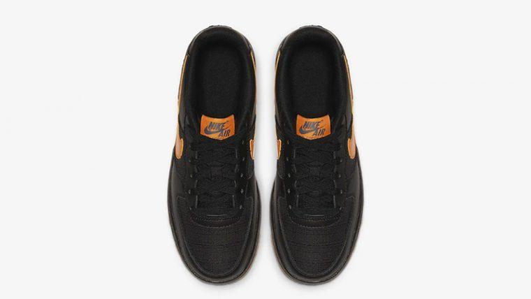 Nike Air Force 1 LV8 5 Black Orange CQ4215-001 middle thumbnail image