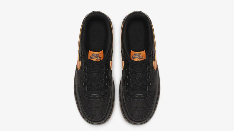 Nike Air Force 1 LV8 5 Black Orange CQ4215-001 middle