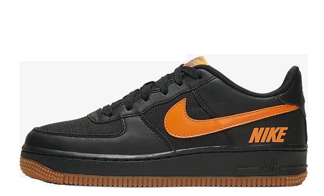 Nike Air Force 1 LV8 5 Black Orange CQ4215-001