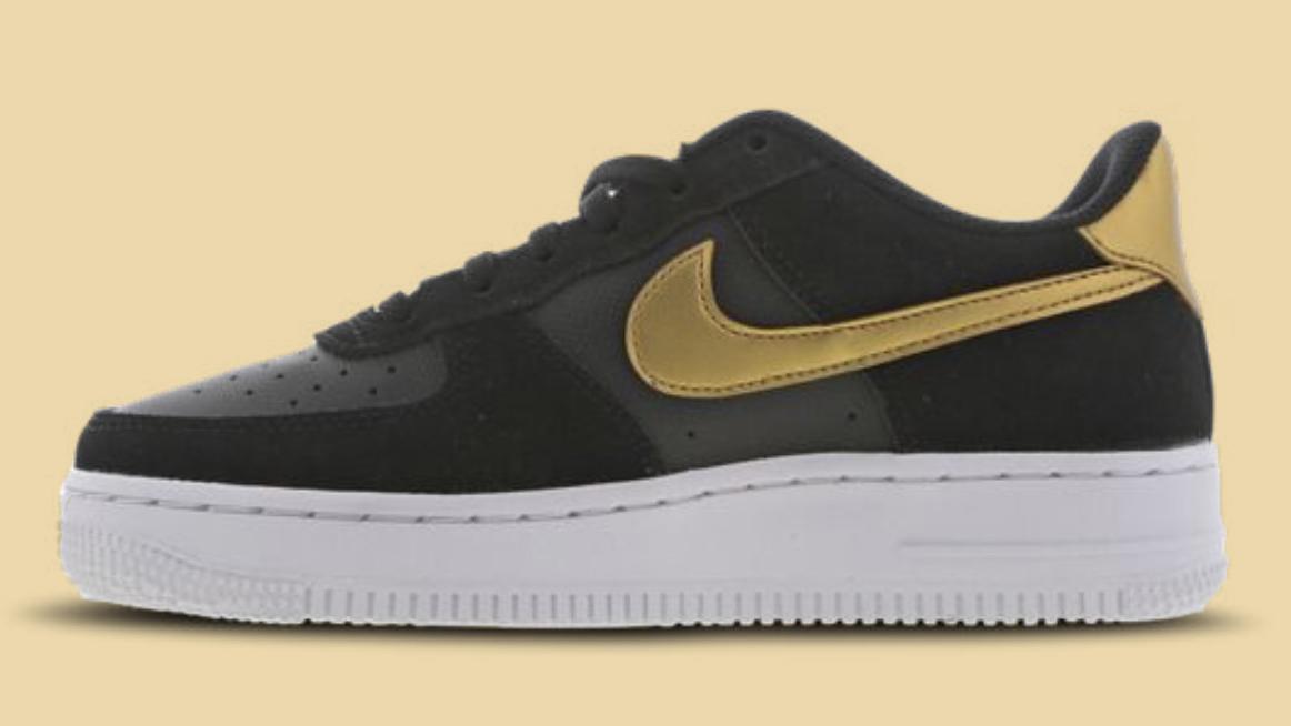 Air Force 1 Black Gold