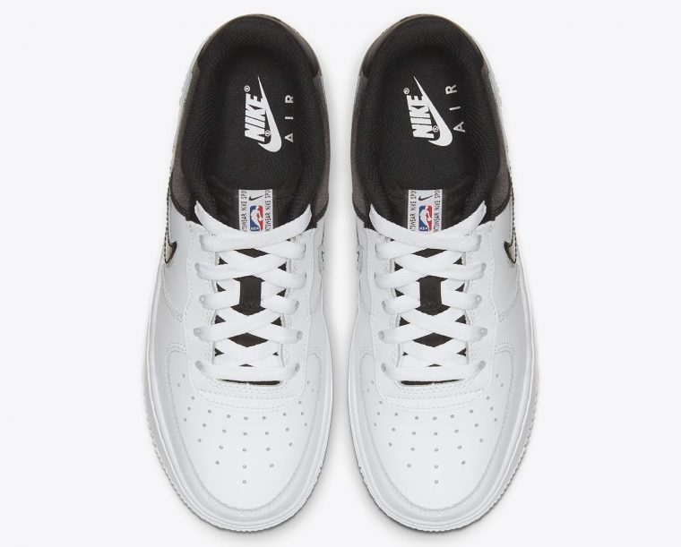Nike Air Force 1 NBA Low CK0502-100 laces thumbnail image