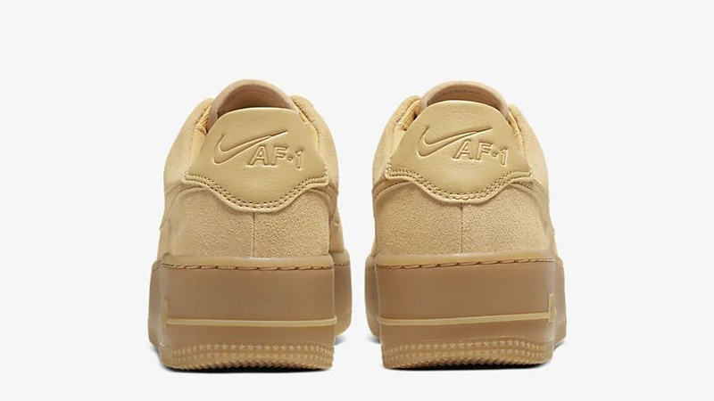 Nike Air Force 1 Sage Low Club Gold CT3432-700 back