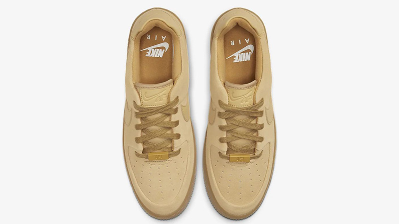 Nike Air Force 1 Sage Low Club Gold CT3432-700 middle