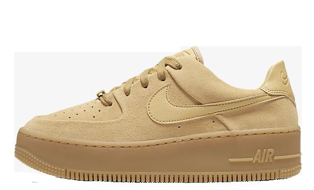Nike Air Force 1 Sage Low Club Gold CT3432-700