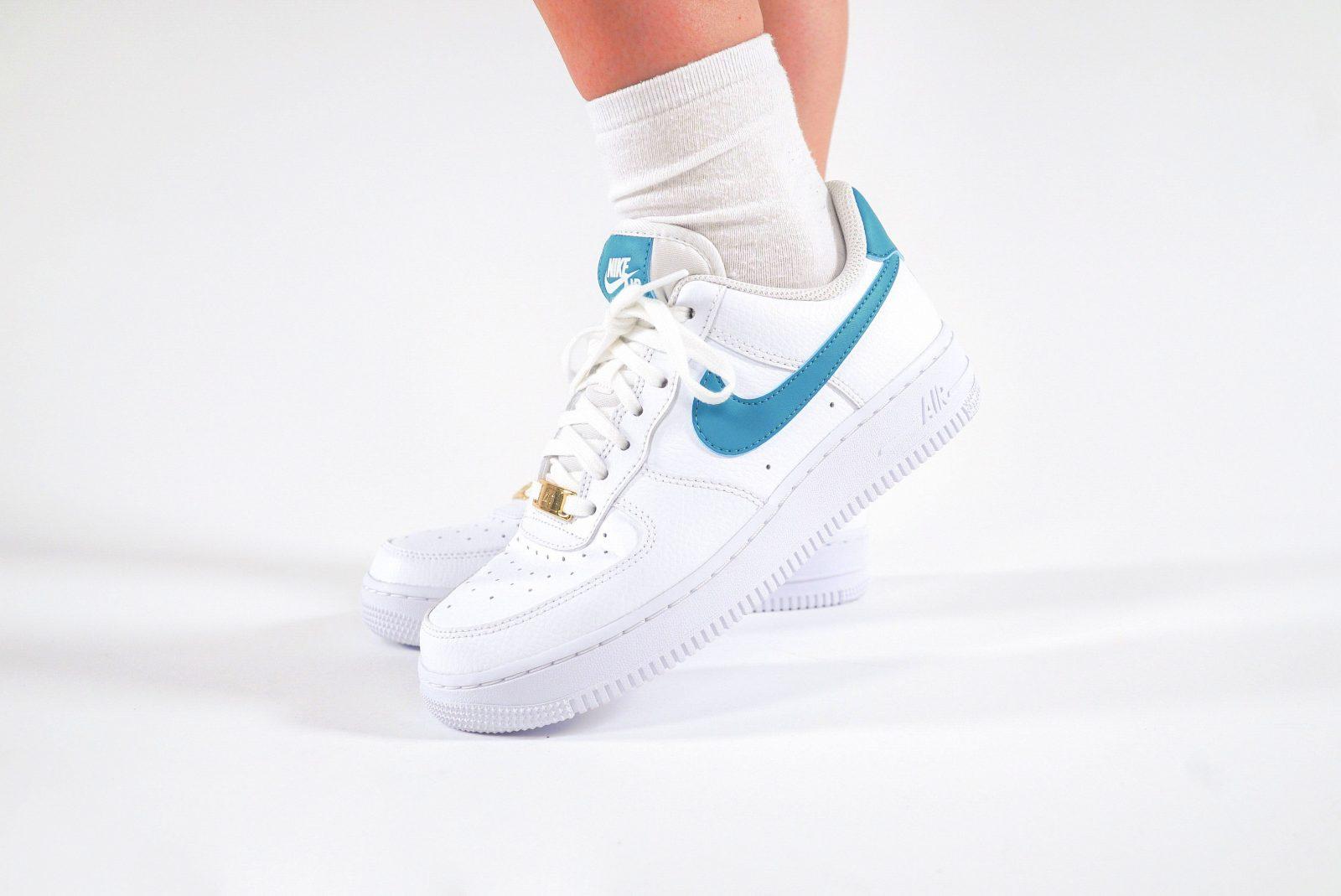 Nike Air Force 1 Teal Nebula The Sole Womens side 2