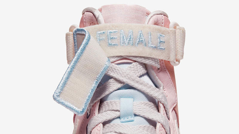 Nike Air Force 1 Utility Champion Pink tongue