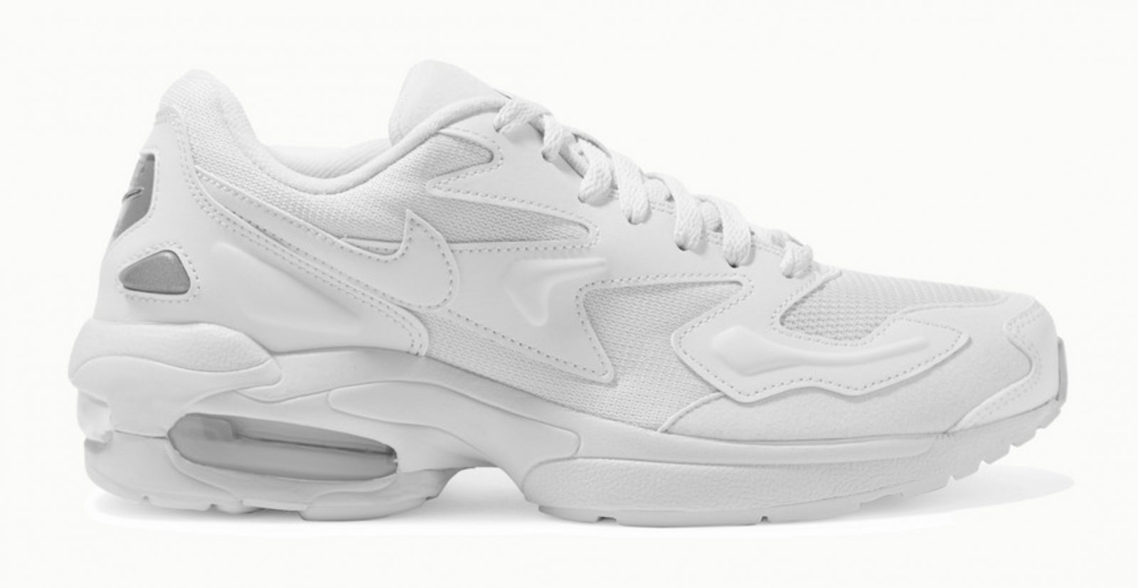 Nike Air Max 2 Light faux leather and mesh sneakers