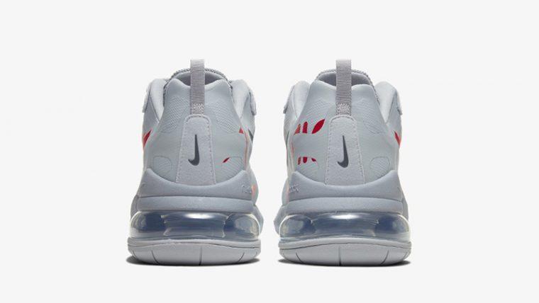 Nike Air Max 270 React Just Do It Grey CT2203-002 back thumbnail image