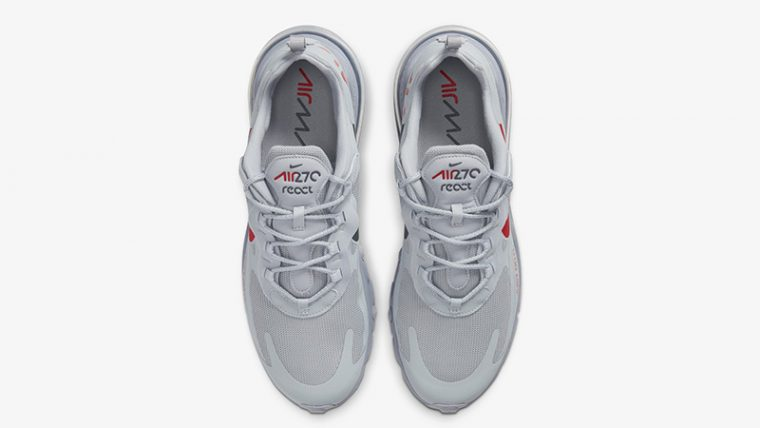 Nike Air Max 270 React Just Do It Grey CT2203-002 middle thumbnail image