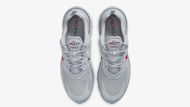 Nike Air Max 270 React Just Do It Grey CT2203-002 middle