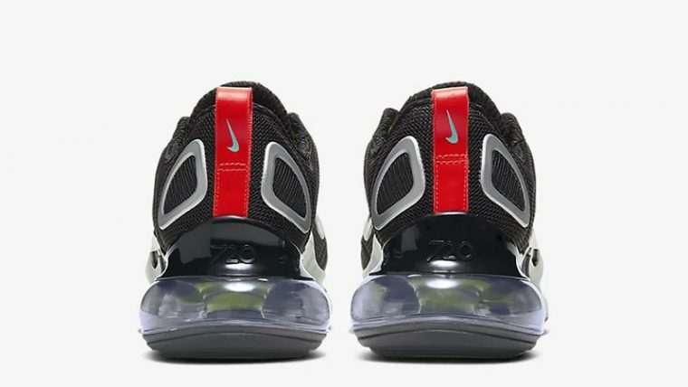 Nike Air Max 720 By You Black CT3435-001 back thumbnail image