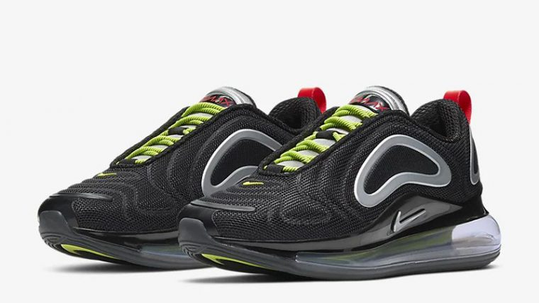 Nike Air Max 720 By You Black CT3435-001 front thumbnail image