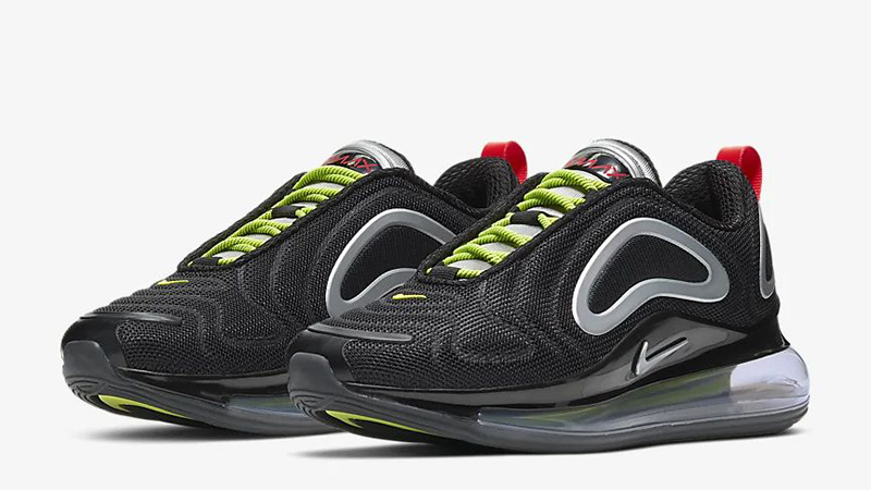 Nike Air Max 720 By You Black CT3435-001 front