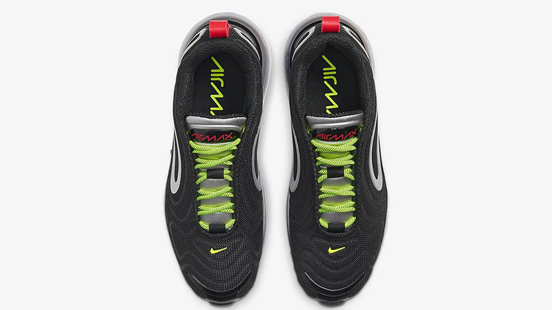 Nike Air Max 720 By You Black CT3435-001 middle
