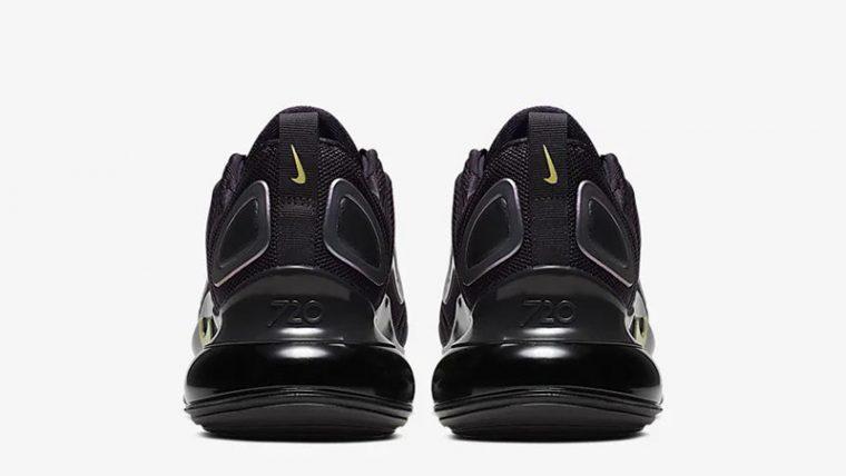 Nike Air Max 720 By You Oil Grey CN0137-001 back thumbnail image