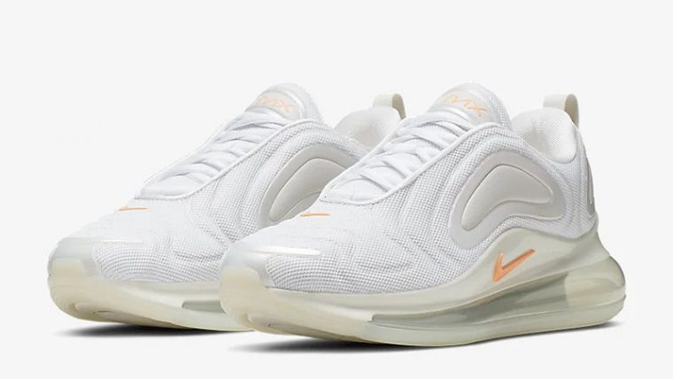 Nike Air Max 720 By You White Orange CN0137-100 front thumbnail image