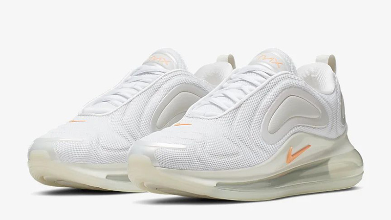 Nike Air Max 720 By You White Orange CN0137-100 front