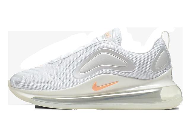 Nike Air Max 720 By You White Orange CN0137-100