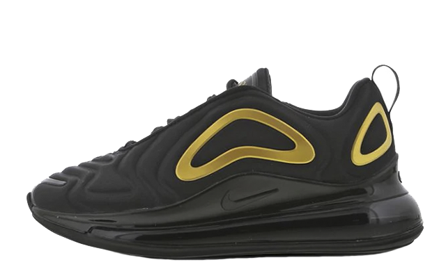 Nike Air Max 720 GS Black Gold AQ3196-014