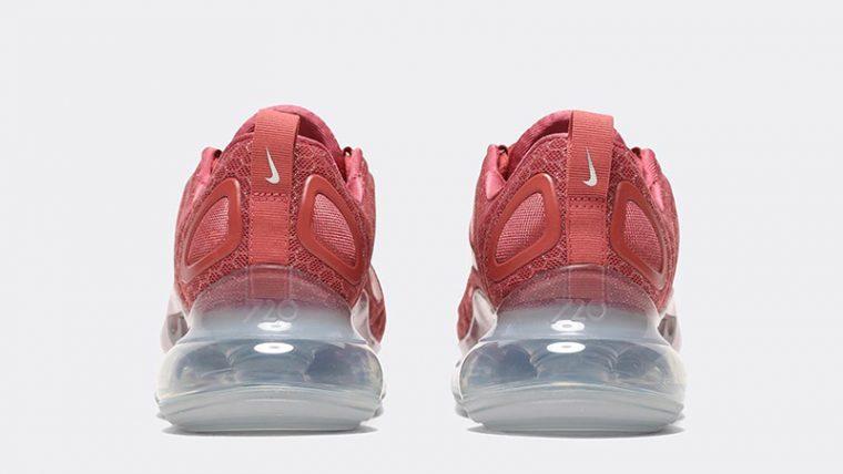 Nike Air Max 720 Glam Dunk Redwood back thumbnail image